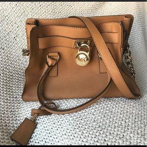 Michael Kors Tan Hamilton Bag